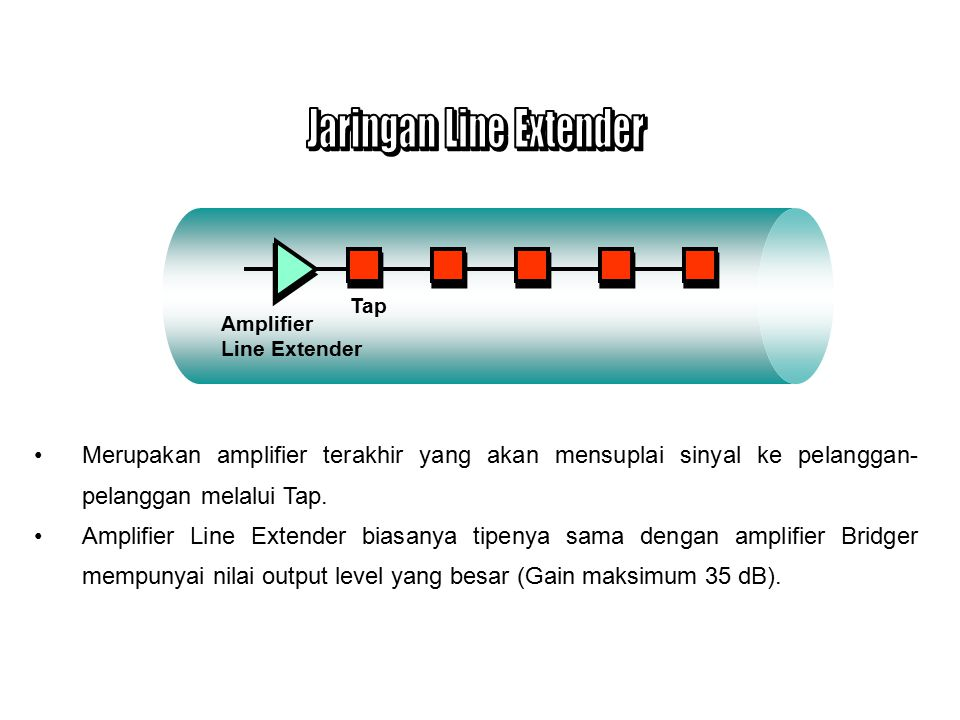 Jaringan Line Extender