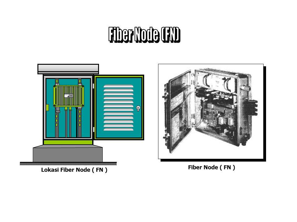 Fiber Node (FN) Fiber Node ( FN ) Lokasi Fiber Node ( FN )