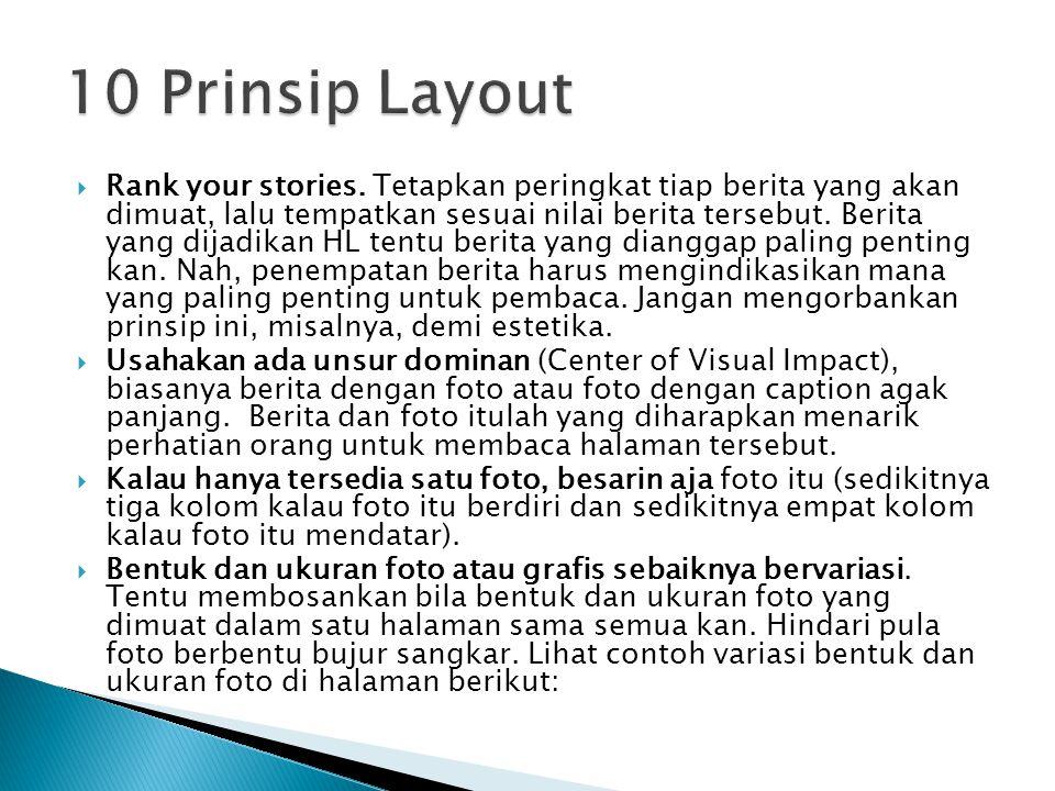 10 Prinsip Layout