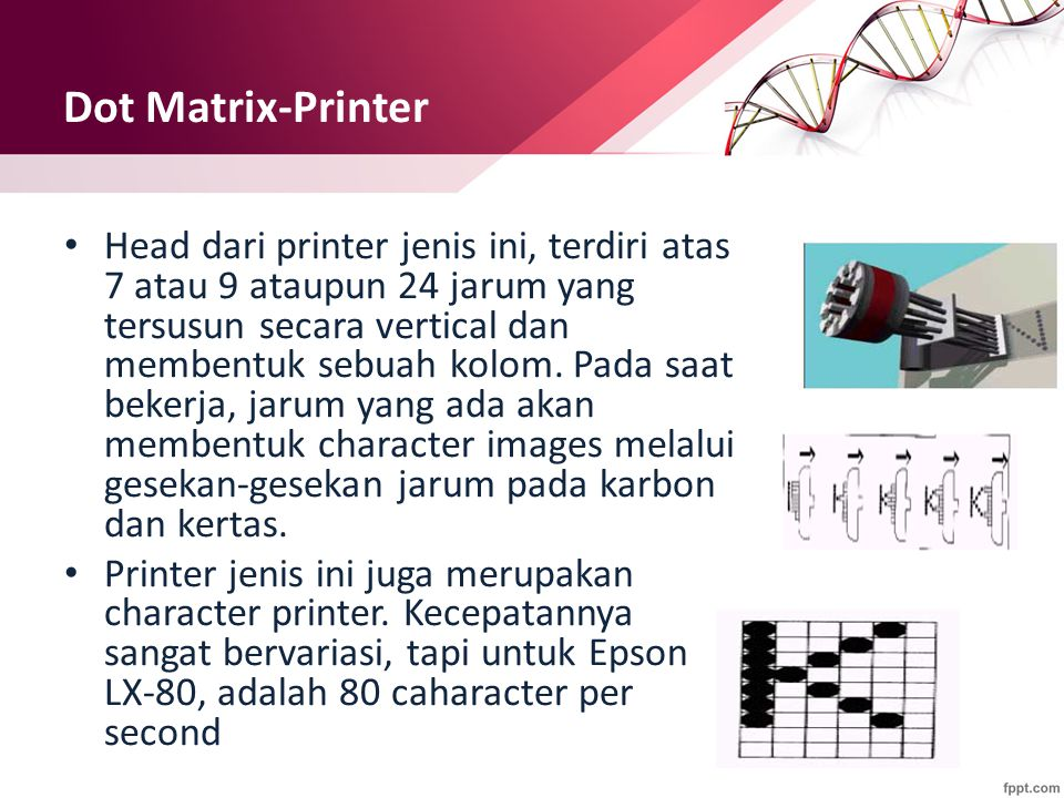 Dot Matrix-Printer