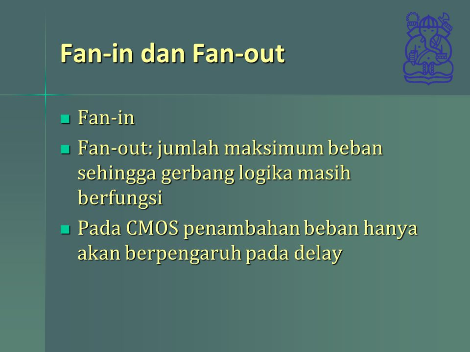 Fan-in dan Fan-out Fan-in