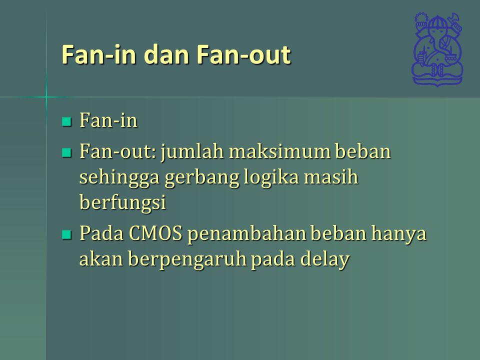 Fan-in dan Fan-out Fan-in