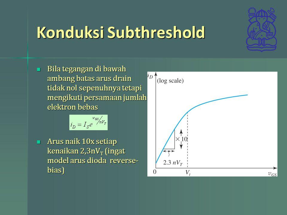 Konduksi Subthreshold