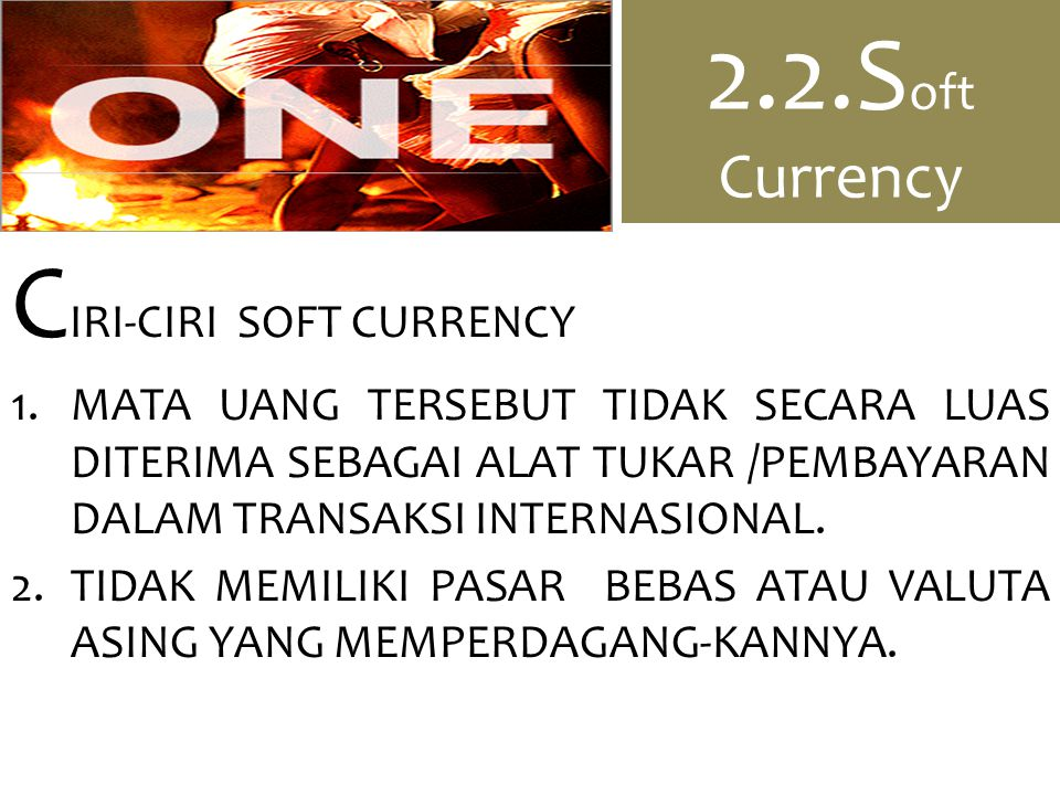 CIRI-CIRI SOFT CURRENCY