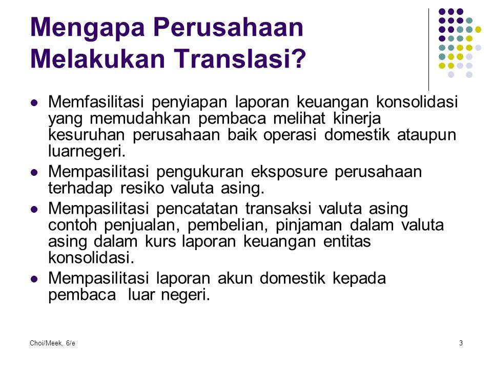 Mengapa Perusahaan Melakukan Translasi