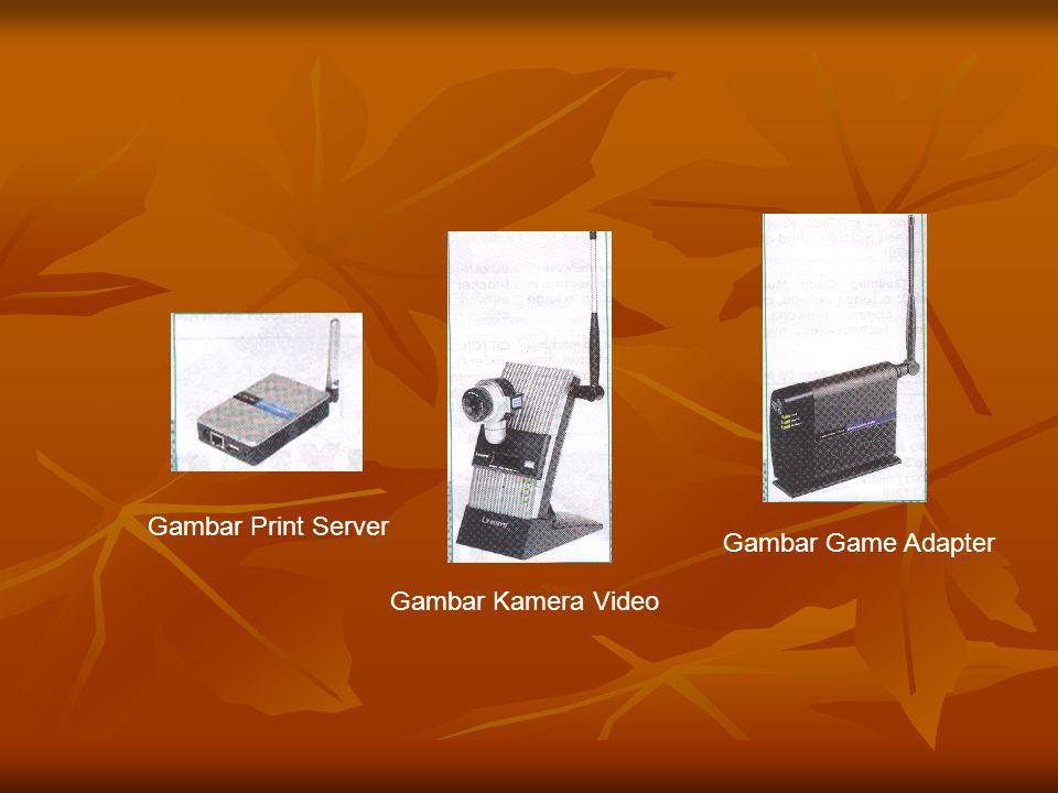 Gambar Print Server Gambar Game Adapter Gambar Kamera Video