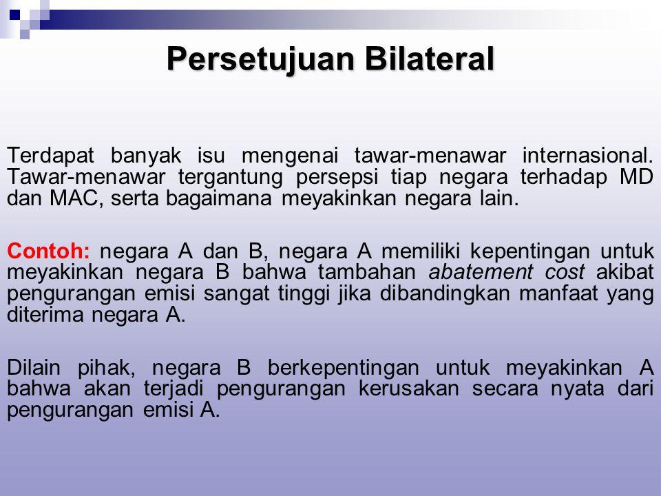 Persetujuan Bilateral