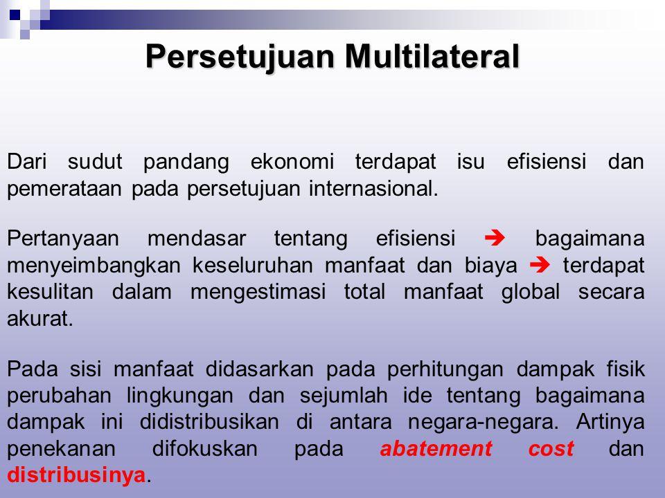 Persetujuan Multilateral