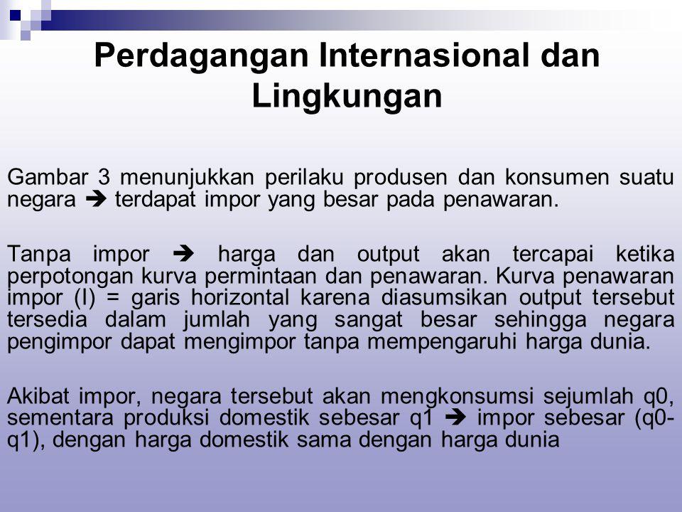 Perdagangan Internasional dan Lingkungan