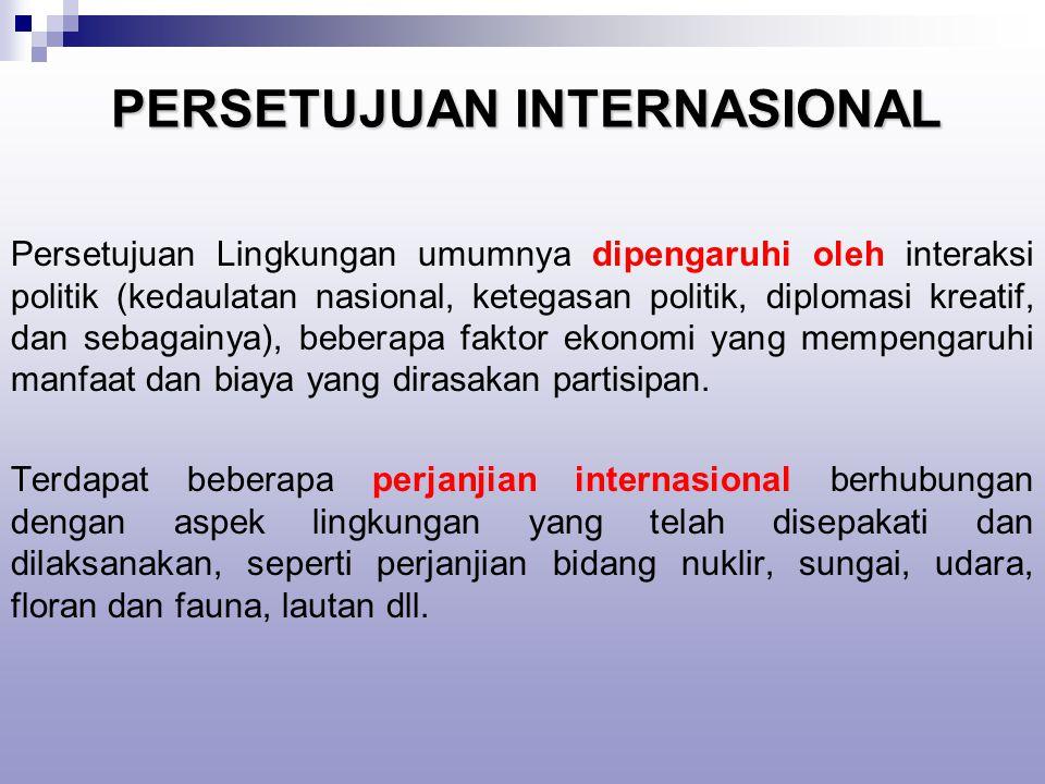 PERSETUJUAN INTERNASIONAL