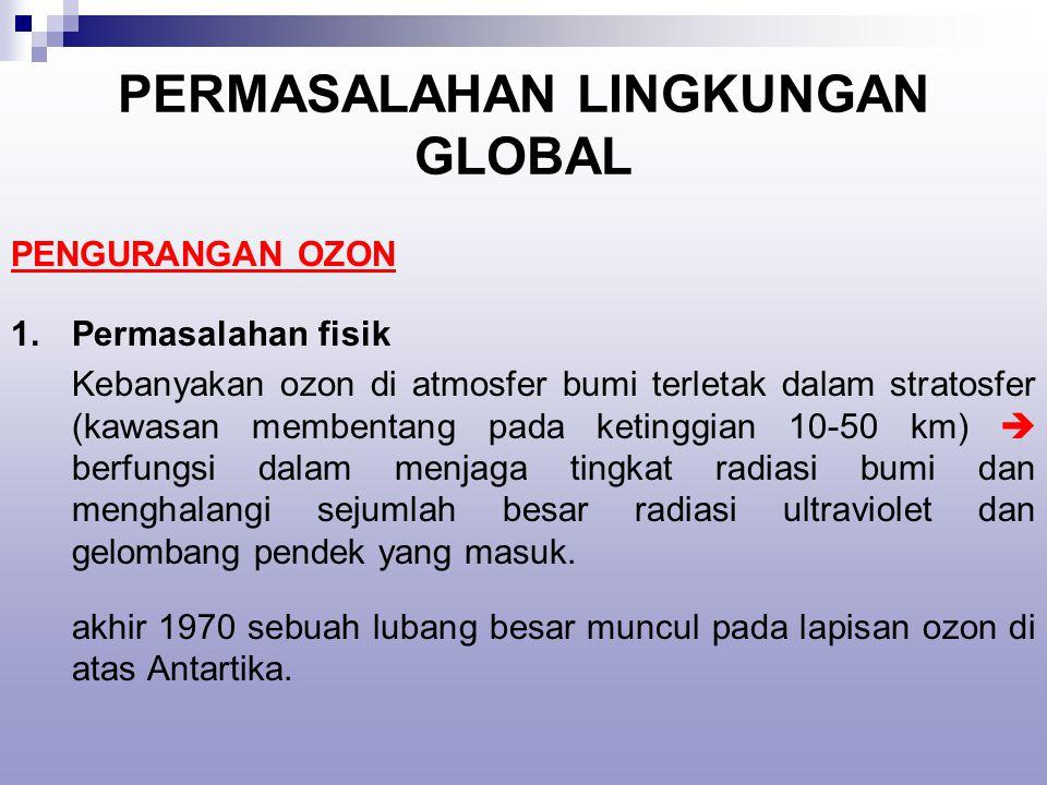 PERMASALAHAN LINGKUNGAN GLOBAL