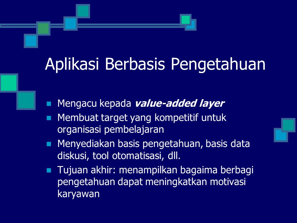 Aplikasi Berbasis Pengetahuan