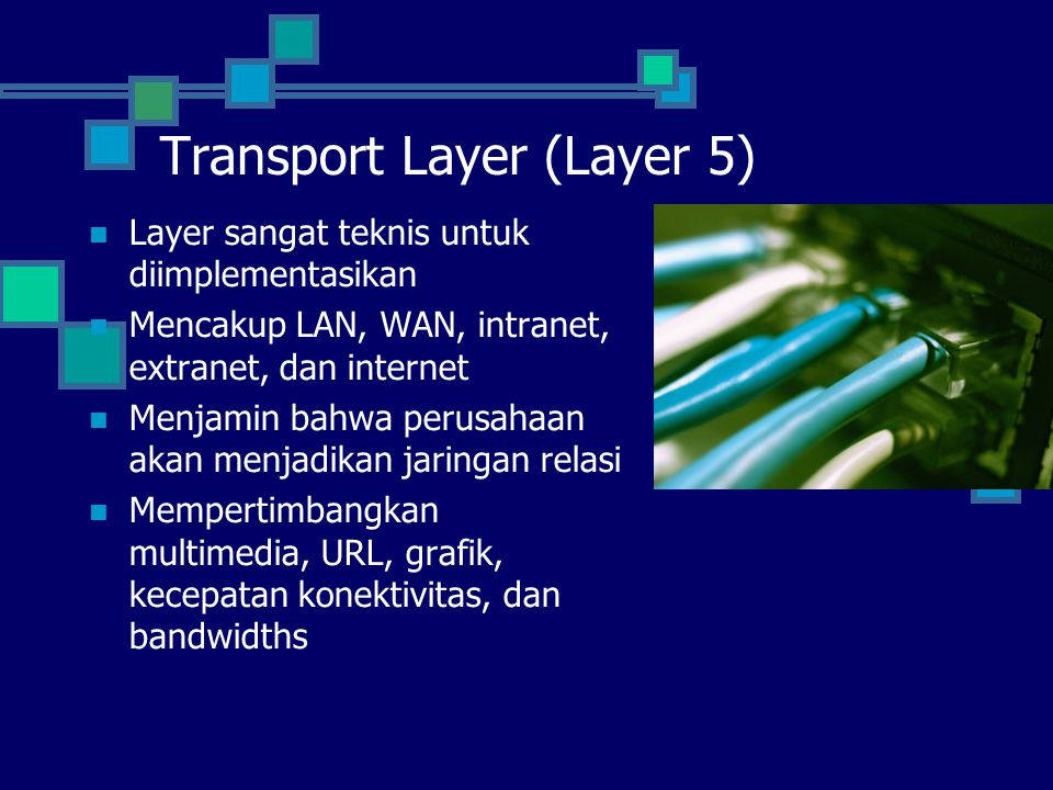 Transport Layer (Layer 5)