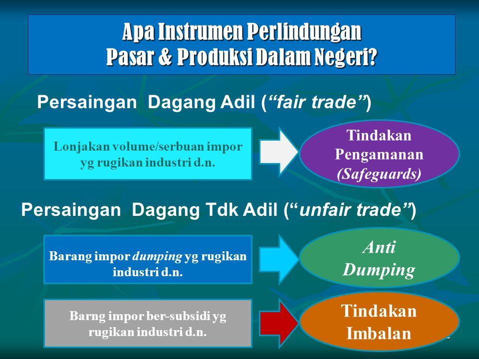 Apa Instrumen Perlindungan Pasar & Produksi Dalam Negeri