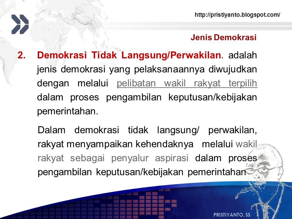 Jenis Demokrasi
