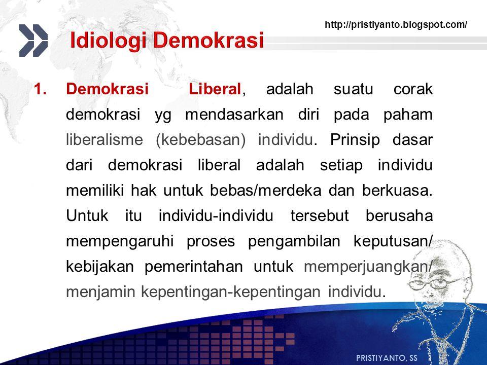 Idiologi Demokrasi