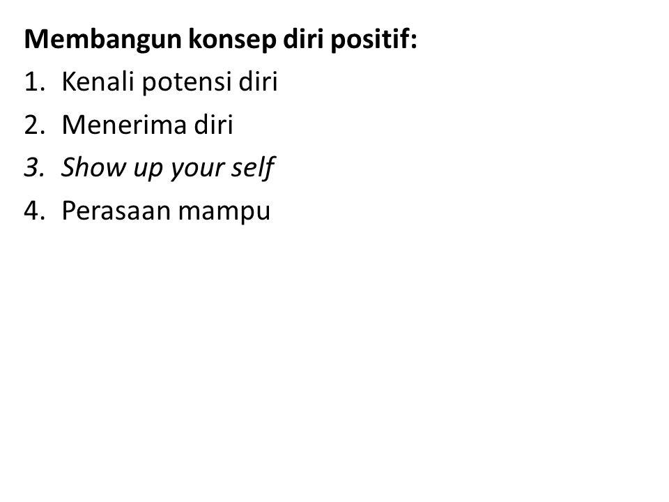 Membangun konsep diri positif:
