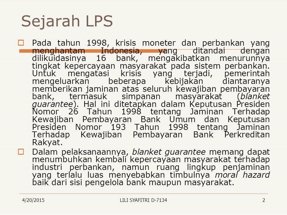 Sejarah LPS