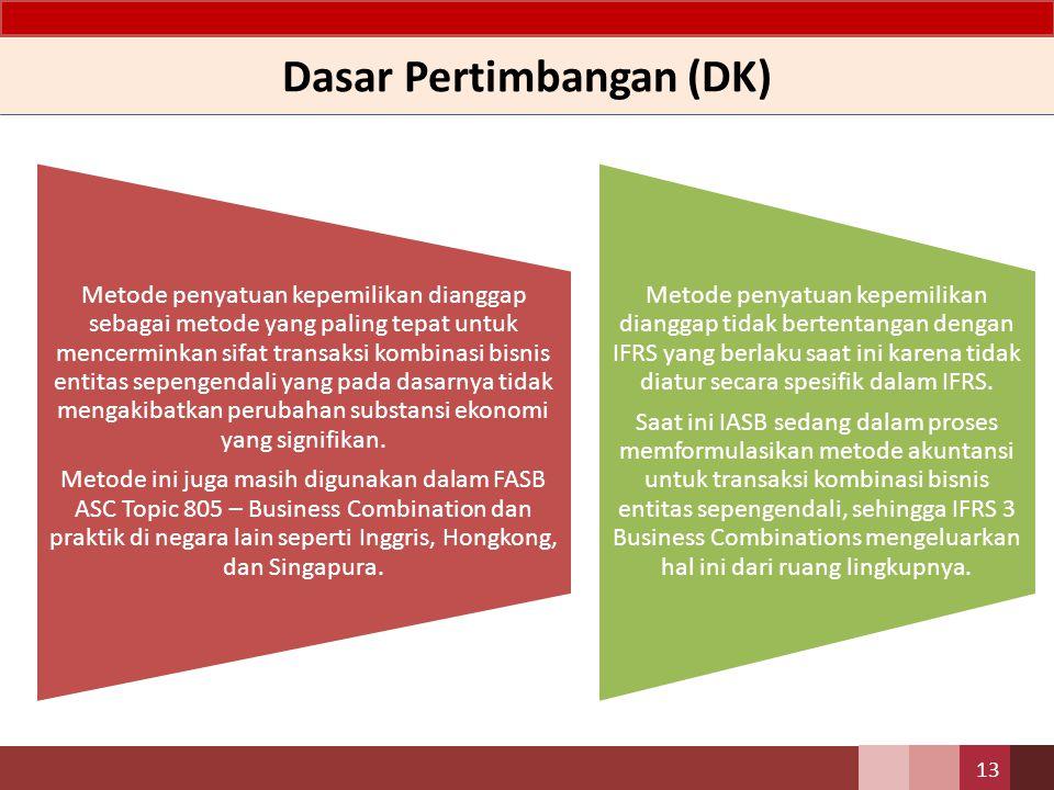 Dasar Pertimbangan (DK)