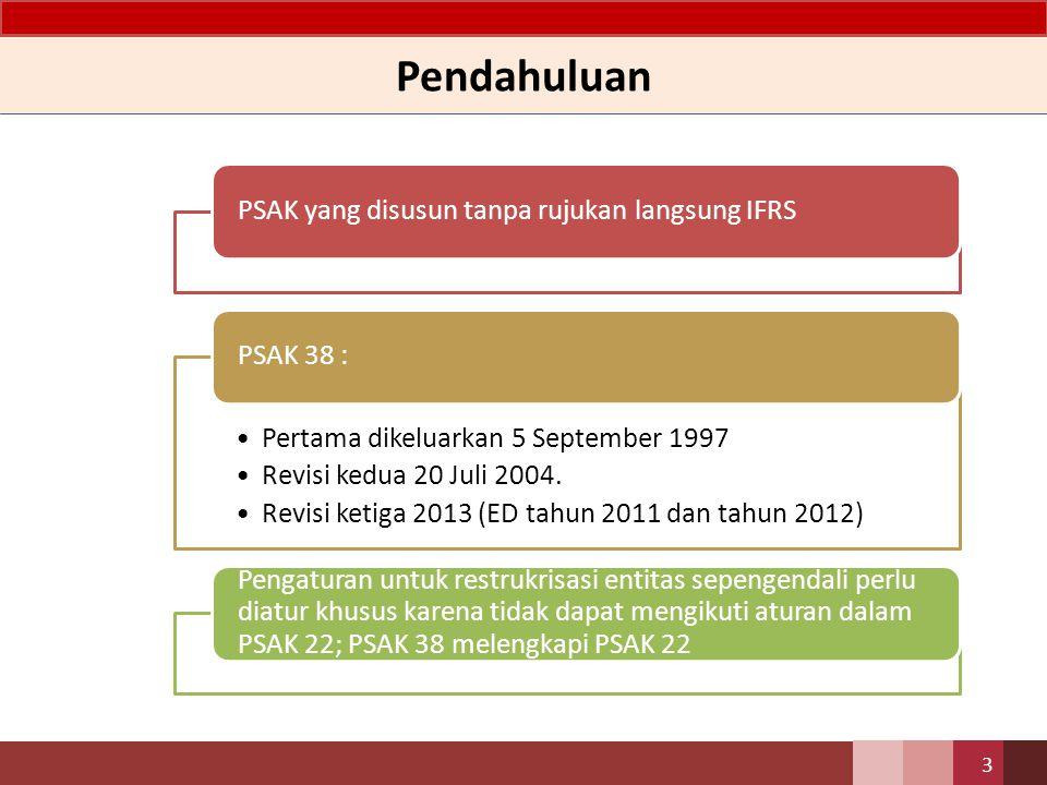 Pendahuluan PSAK yang disusun tanpa rujukan langsung IFRS