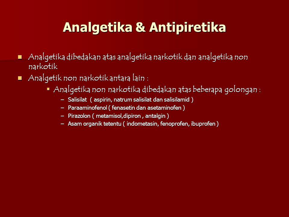 Analgetika & Antipiretika