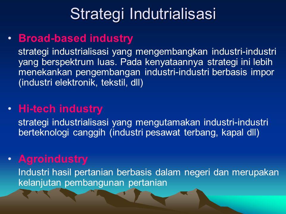 Strategi Indutrialisasi