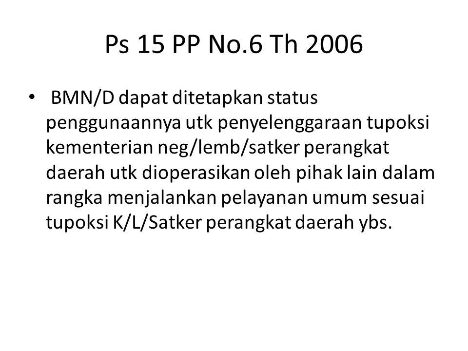 Ps 15 PP No.6 Th 2006