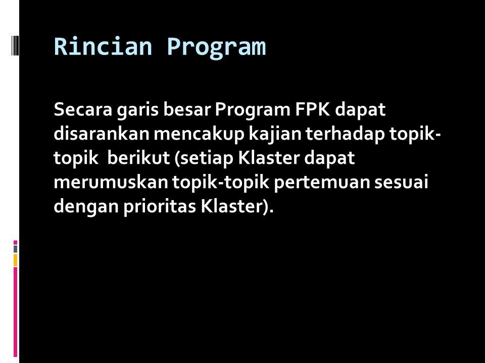 Rincian Program
