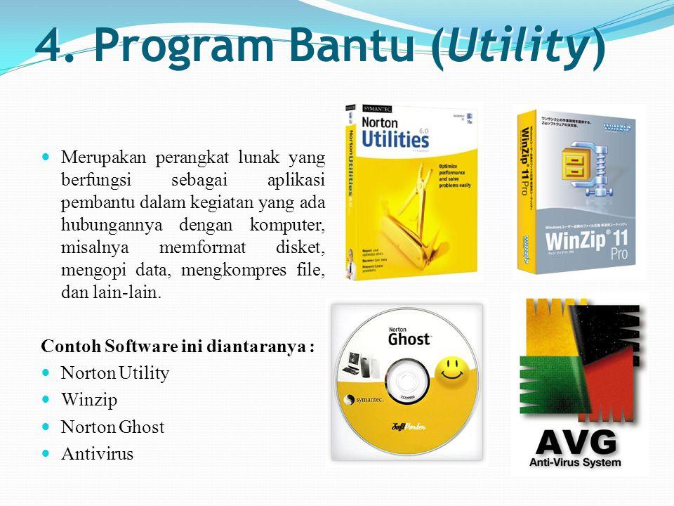 4. Program Bantu (Utility)