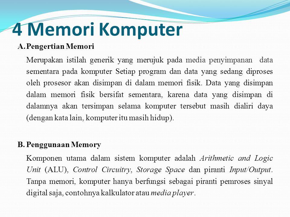 4 Memori Komputer