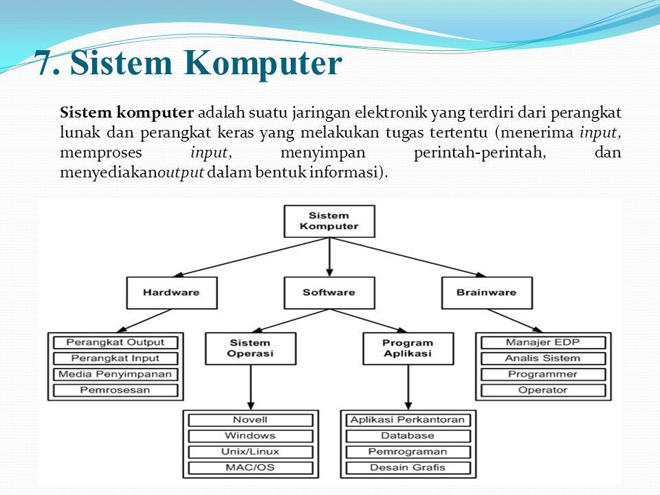 7. Sistem Komputer