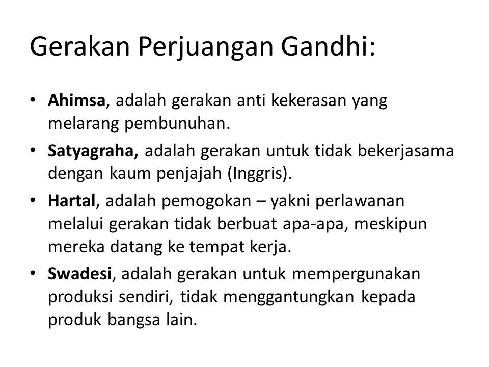 Gerakan Perjuangan Gandhi: