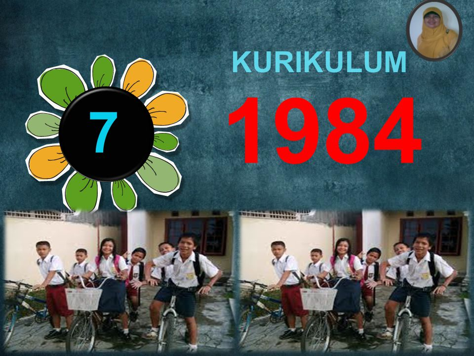 KURIKULUM 1984 7 Rule number 4: Practice design, not decoration.
