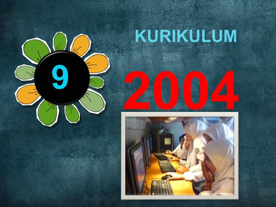 KURIKULUM 9 2004 Rule number 4: Practice design, not decoration.