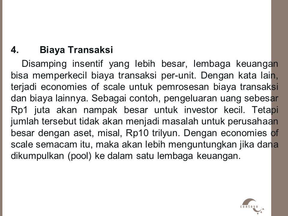 4. Biaya Transaksi