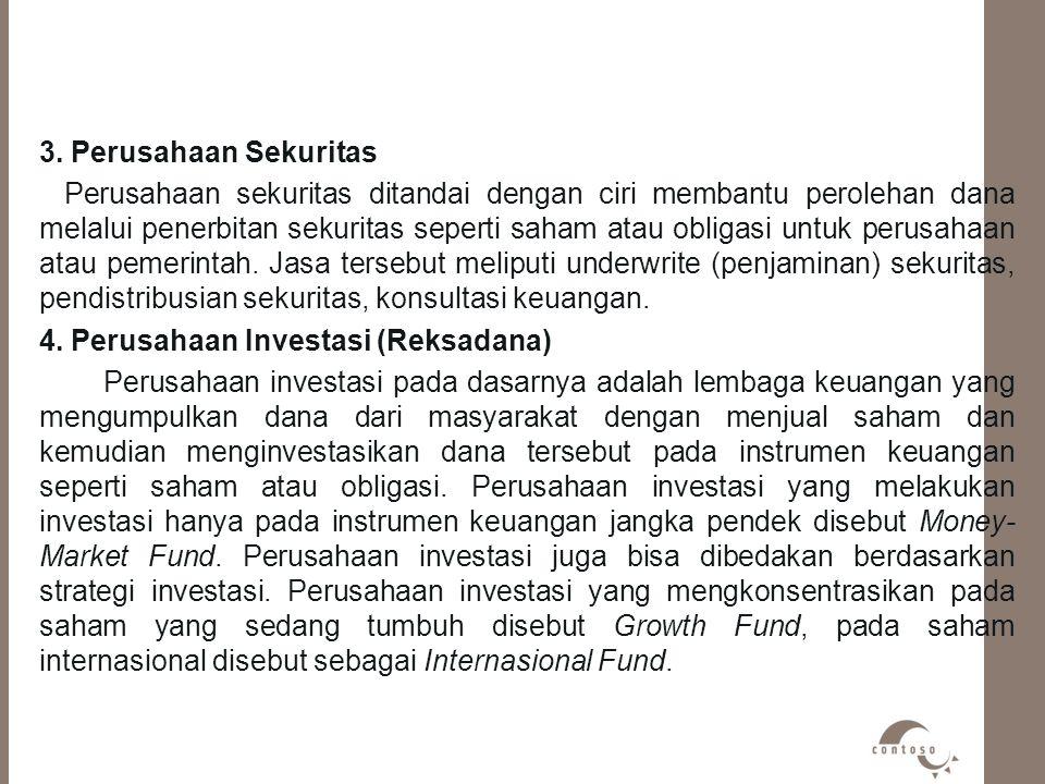 3. Perusahaan Sekuritas