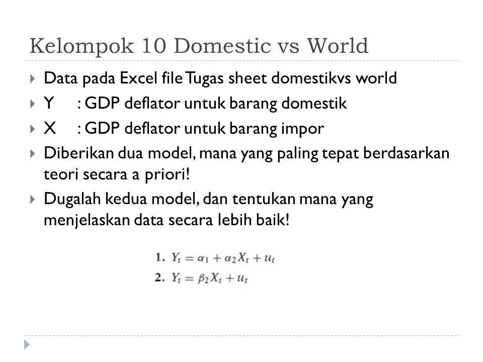 Kelompok 10 Domestic vs World