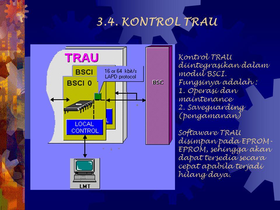 3.4. KONTROL TRAU
