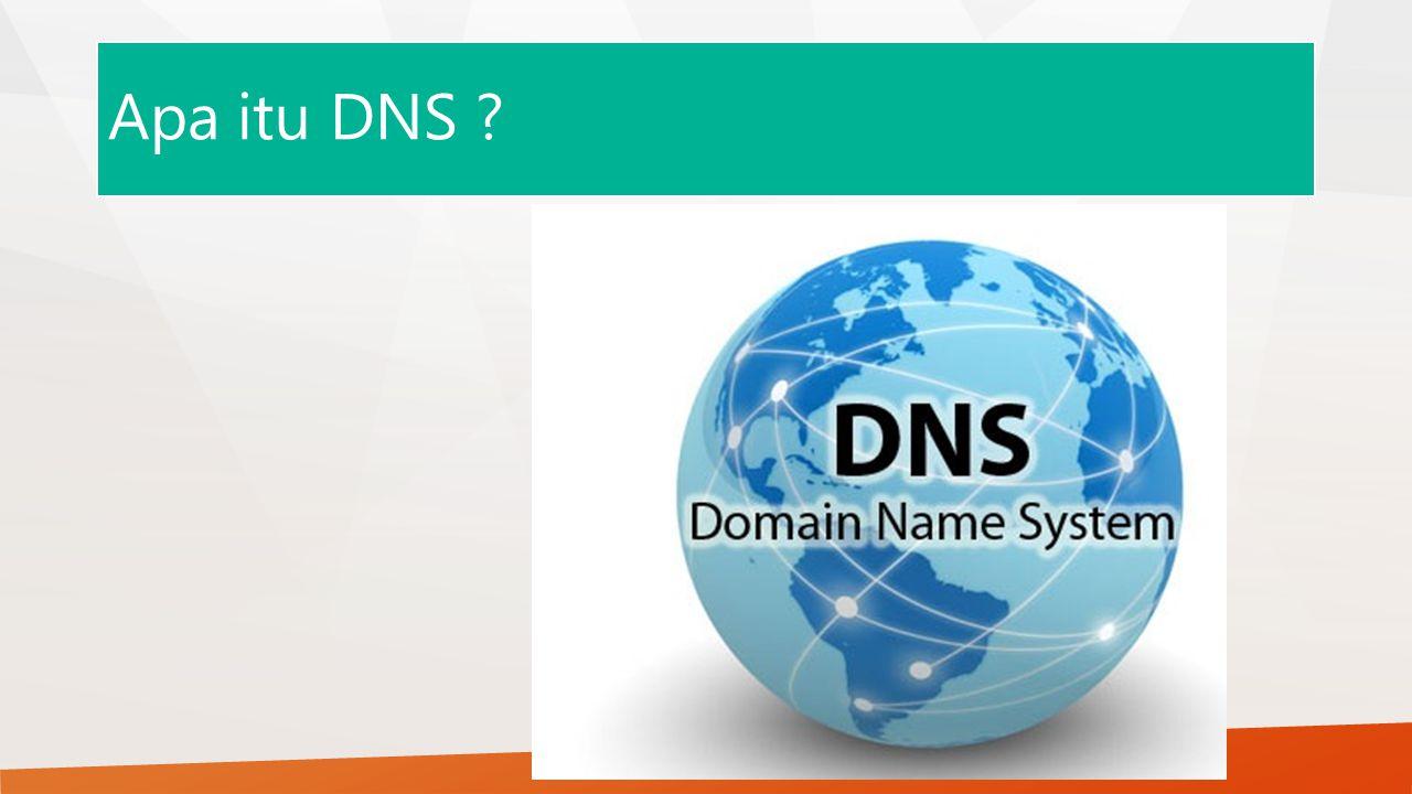 Apa itu DNS