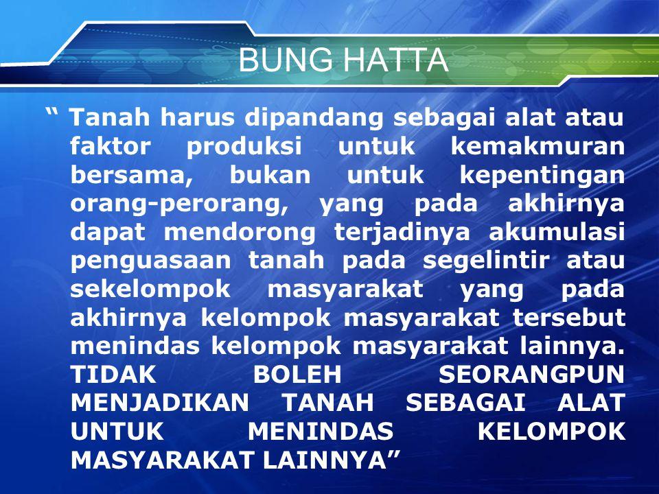 BUNG HATTA