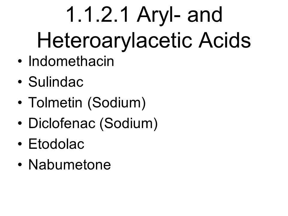 1.1.2.1 Aryl- and Heteroarylacetic Acids