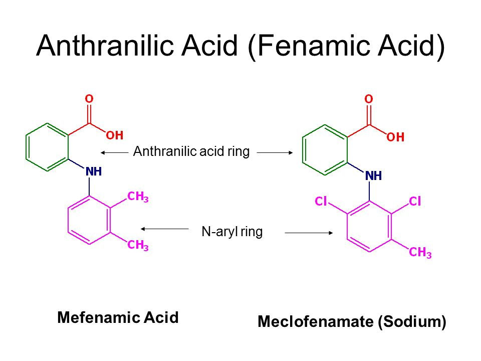 Anthranilic Acid (Fenamic Acid)