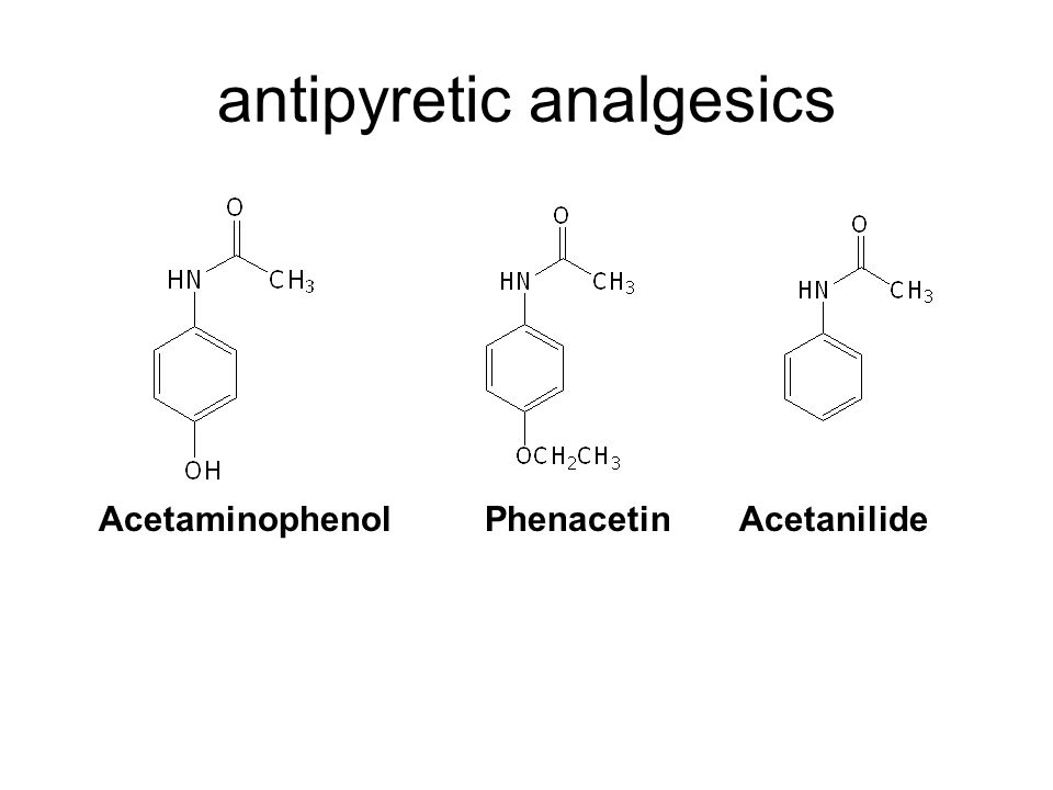 antipyretic analgesics