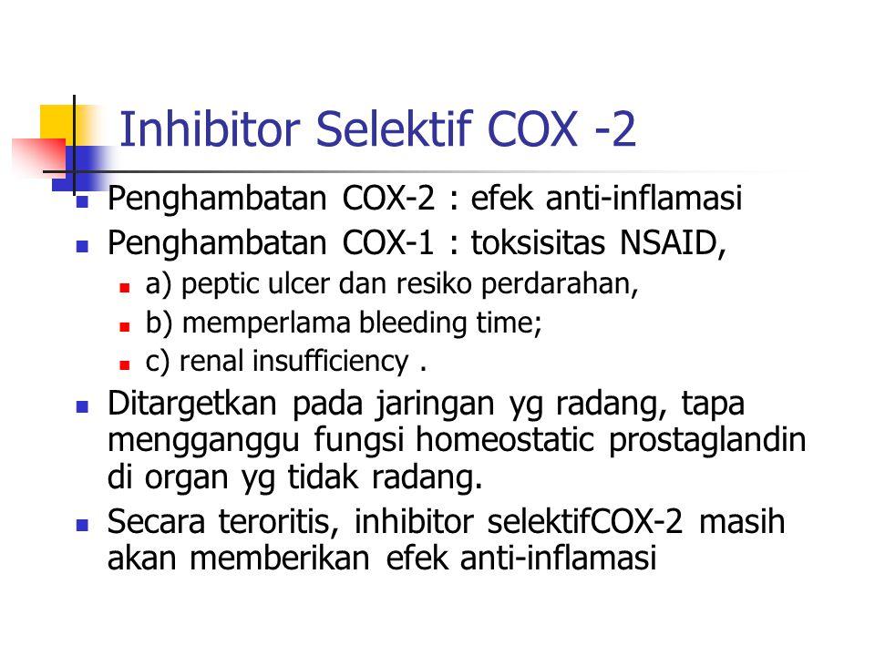 Inhibitor Selektif COX -2