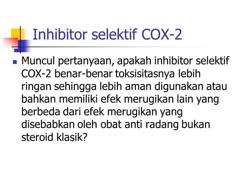 Inhibitor selektif COX-2