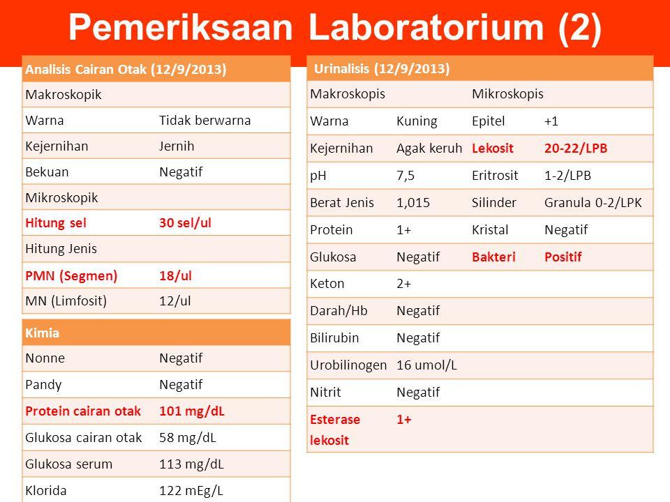 Pemeriksaan Laboratorium (2)