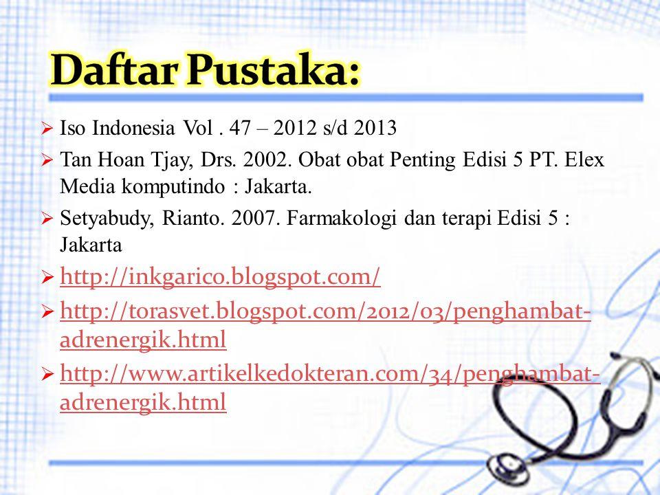 Daftar Pustaka: http://inkgarico.blogspot.com/