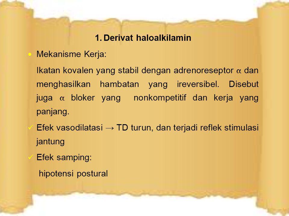 1. Derivat haloalkilamin