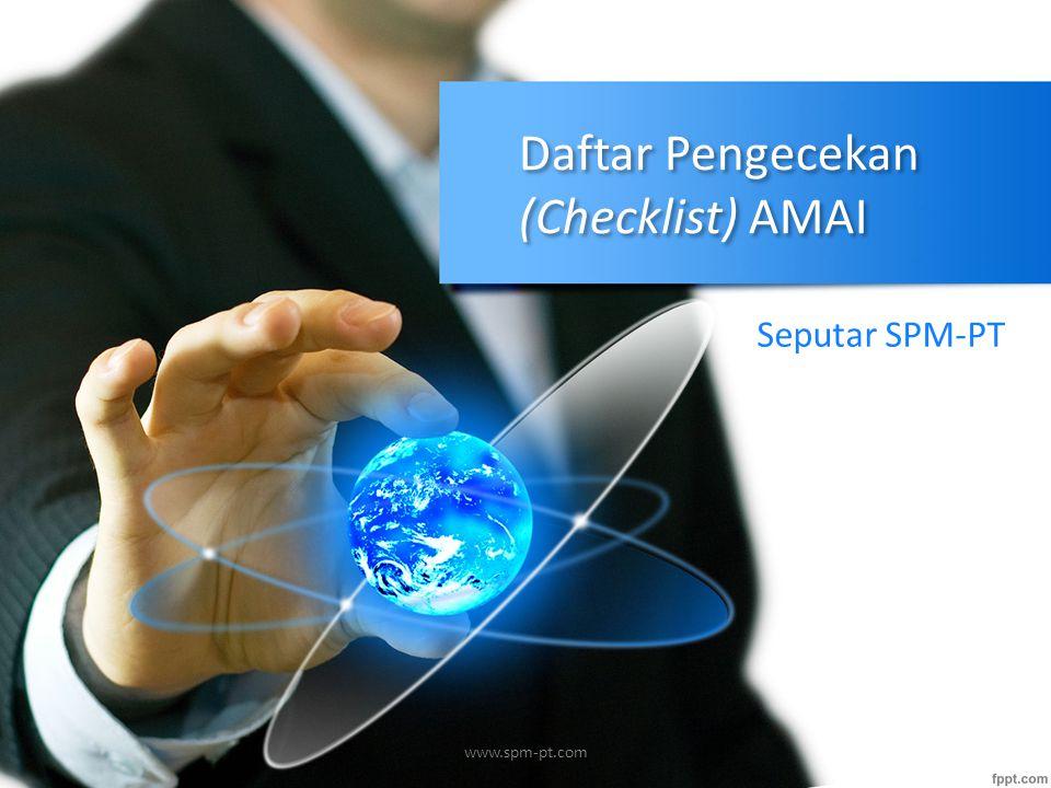Daftar Pengecekan (Checklist) AMAI