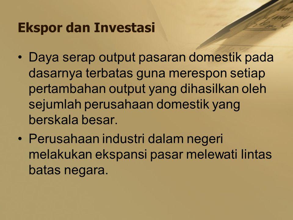 Ekspor dan Investasi